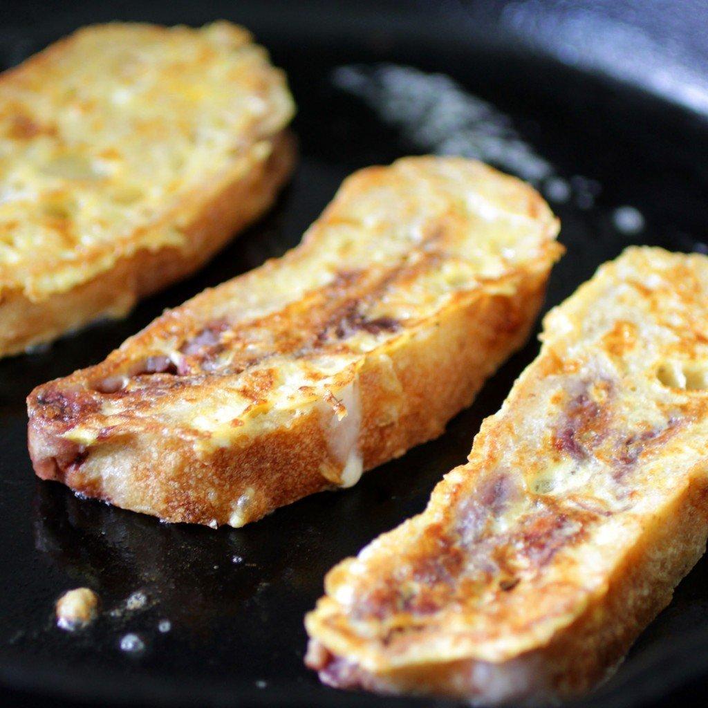 Roasted Strawberry Ciabatta French Toast — Recipe Fiction