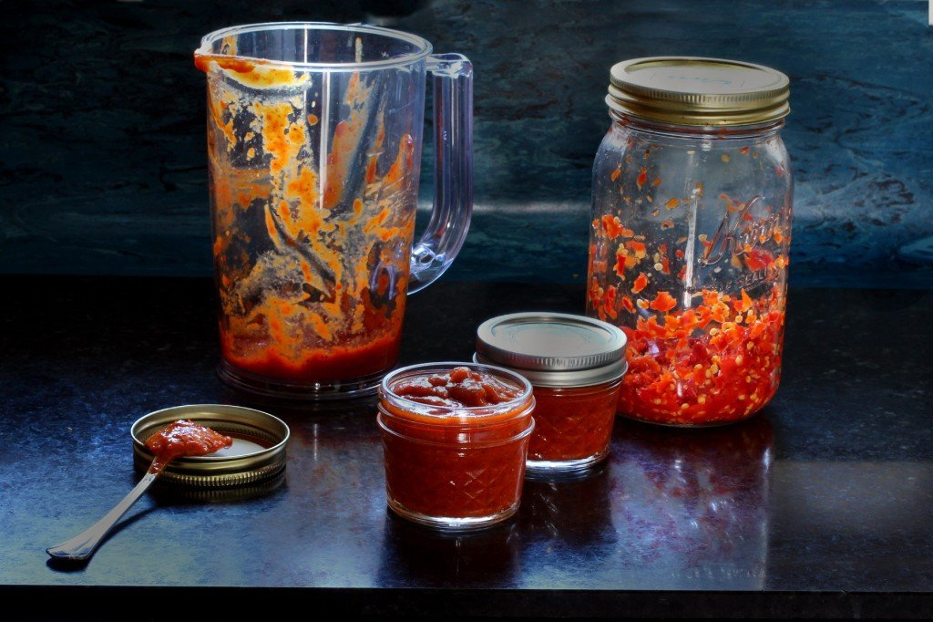 how to make hot sauce from hot peppers